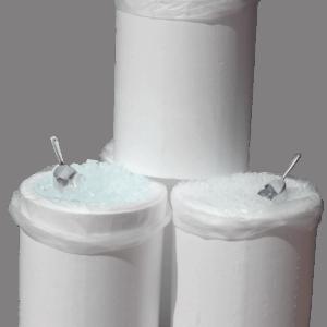 3 tønder isterninger i termotønder