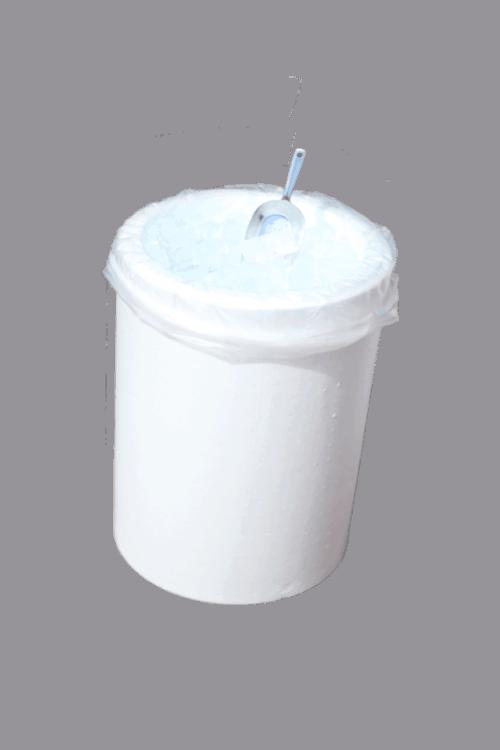 isterninger i tønde med isske