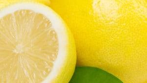 Citron close up