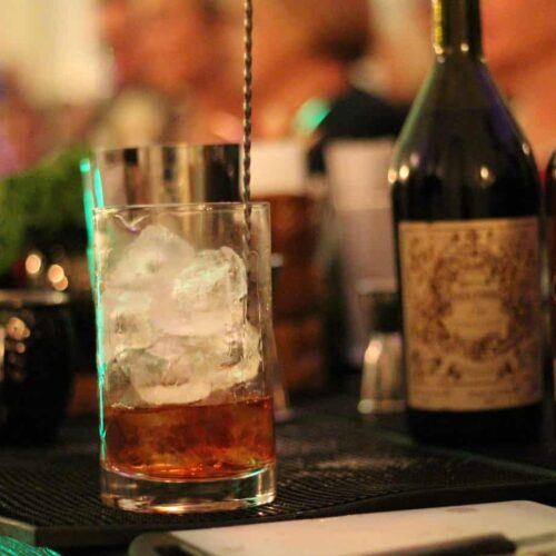stirred cocktail catering