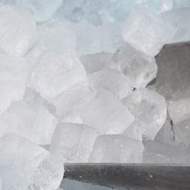 isterninger og knust is