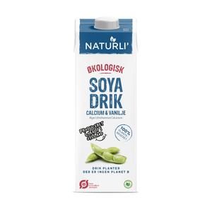soyamælk med vanilje